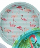 Mint dienblad flamingo 33 cm