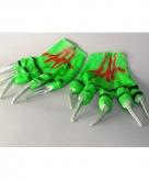 Monster handschoenen groen 10050776