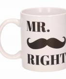 Mr right koffiemok beker 300 ml