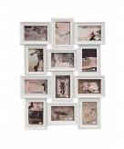 Muur frame fotolijst wit 52 x 68 cm