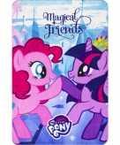 My little pony fleece bankdeken voor meisjes