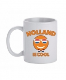 Nederland beker mok met holland is cool print 300 ml
