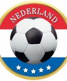 Nederland thema voetbal bierviltjes