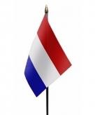 Nederland vlaggetje polyester