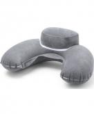Nekkussen grijs extra dik