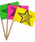 Neon feestprikkers 36 stuks