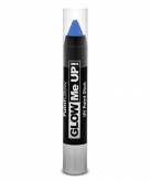 Neon uv make up stick blauw