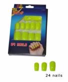 Nep nagel setje neon geel