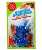 Nep snoepgoed blauwe mond