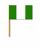 Nigeria zwaaivlaggetjes