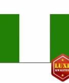 Nigeriaanse vlaggen goede kwaliteit