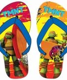 Ninja turtles flip flops rood oranje voor jongens
