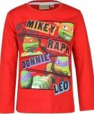 Ninja turtles t-shirt voor kinderen rood