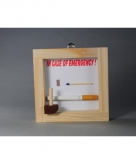 Noodgeval sigaret in lijstje