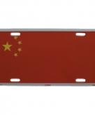 Nummerbord china