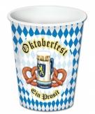 Oktoberfest bekertjes 8 stuks