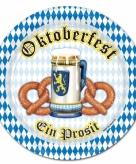 Oktoberfest borden 8 stuks