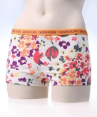 Ondergoed calvin klein dames shorty flower