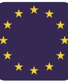 Onderzetters voor glazen met europese kleuren 15 st