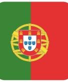 Onderzetters voor glazen met portugese kleuren 15 st