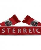Oostenrijk supporter wk shawl