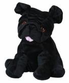 Opwarmbare knuffel hond mopshond