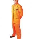 Oranje bobo verkleedpak