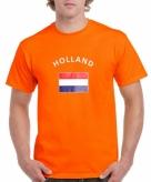 Oranje holland vlag t-shirts