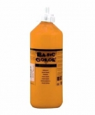 Oranje plakkaatverf tube 500 ml
