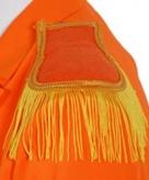 Oranje schouderkwasten