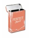Oranje sigaretten box