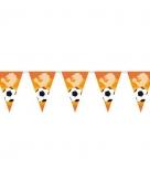 Oranje supporters vlaggenlijn 6 m