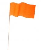 Oranje zwaaivlag per stuk