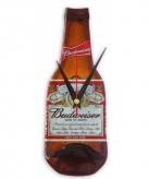 Originele budweiser bierfles klok