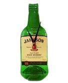 Originele jameson whiskey fles klok