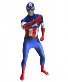 Originele morphsuit captain america print