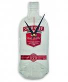 Originele smirnoff vodka fles klok