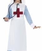 Ouderwets zuster kostuum voor meisjes
