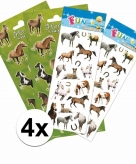 Paarden thema stickers pakket