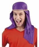 Paarse arabieren hoeden