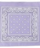 Paisley print bandana paars