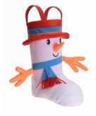 Pakjes zak schoen vorm sneeuwpop
