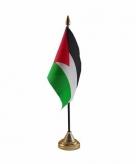 Palestina versiering tafelvlag 10 x 15 cm