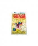 Papieren deco gras geel 40 gram
