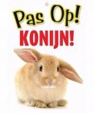 Pas op voor konijn bordje
