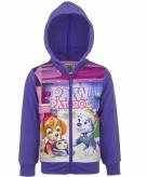 Paw patrol hooded sweater vest voor meisjes