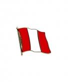 Peruaanse vlag broche