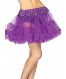 Petticoat luxe paars voor dames