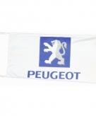 Peugeot vlag wit 150 x 75 cm