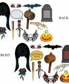 Photo booth prop accessoires halloween thema